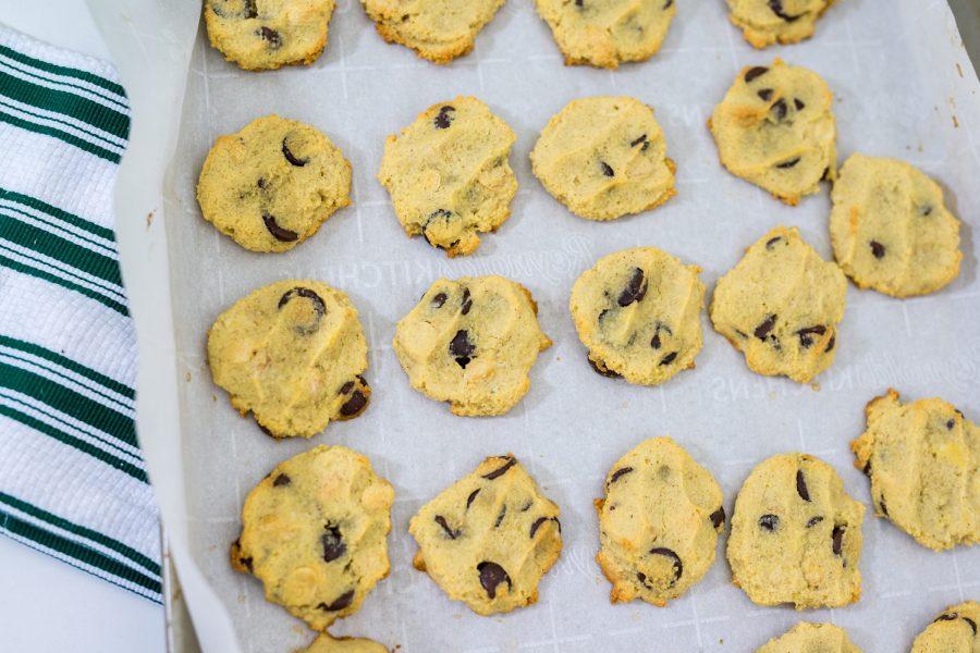 Chocolate Chip Cookies   Gluten Free + Paleo Friendly Option   Foodthengames.com